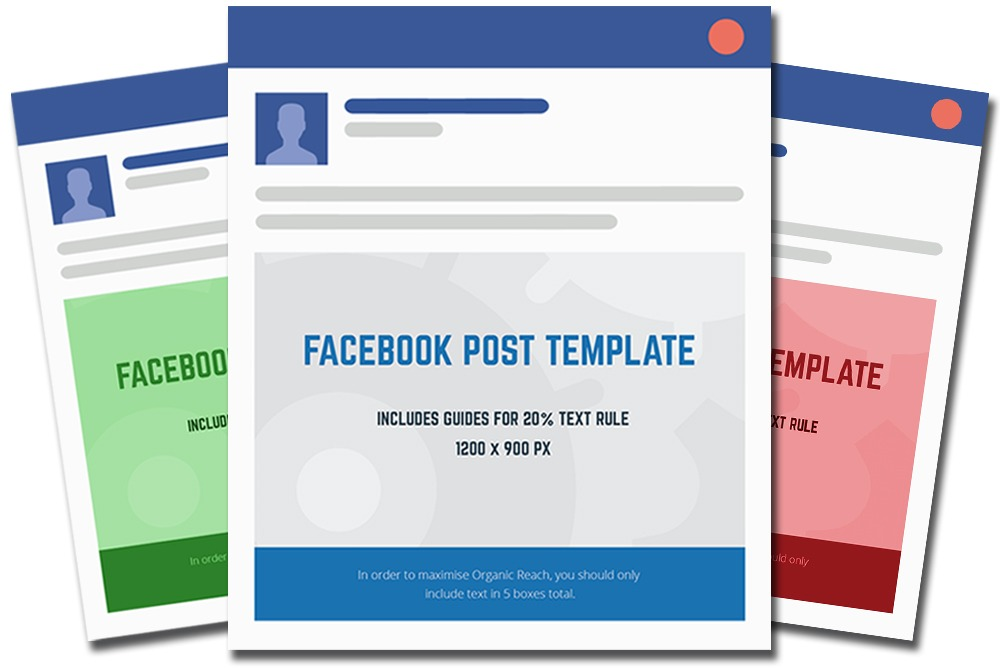 facebook post template