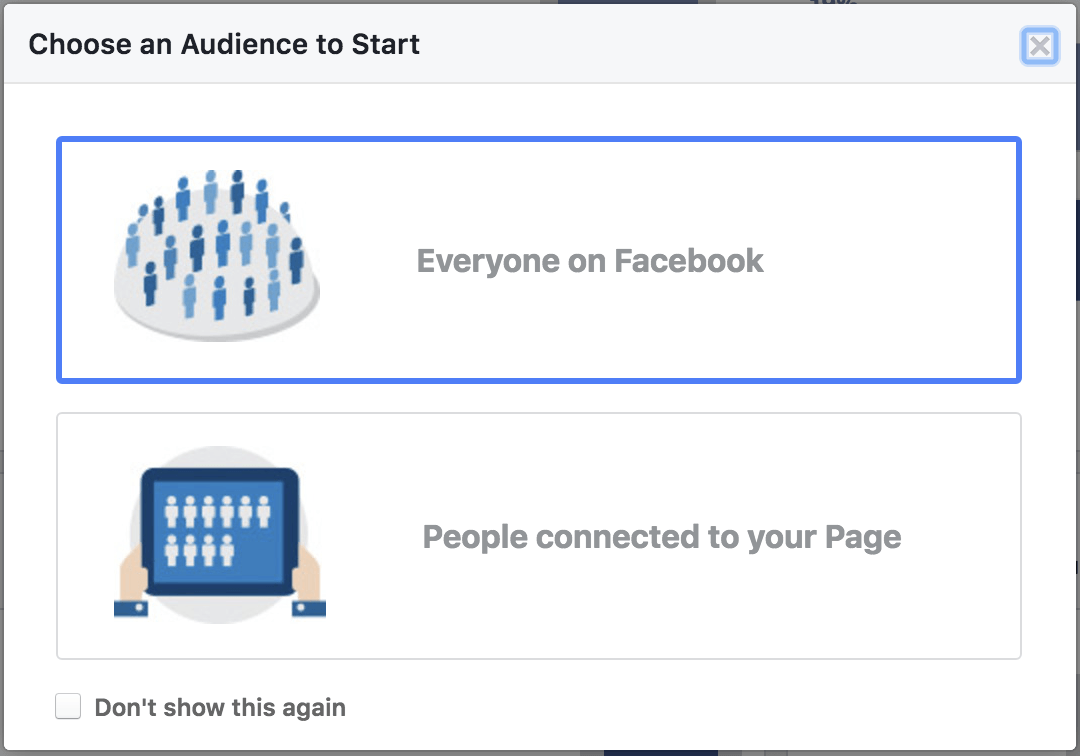 Audience Insights - Everyone on Facebook
