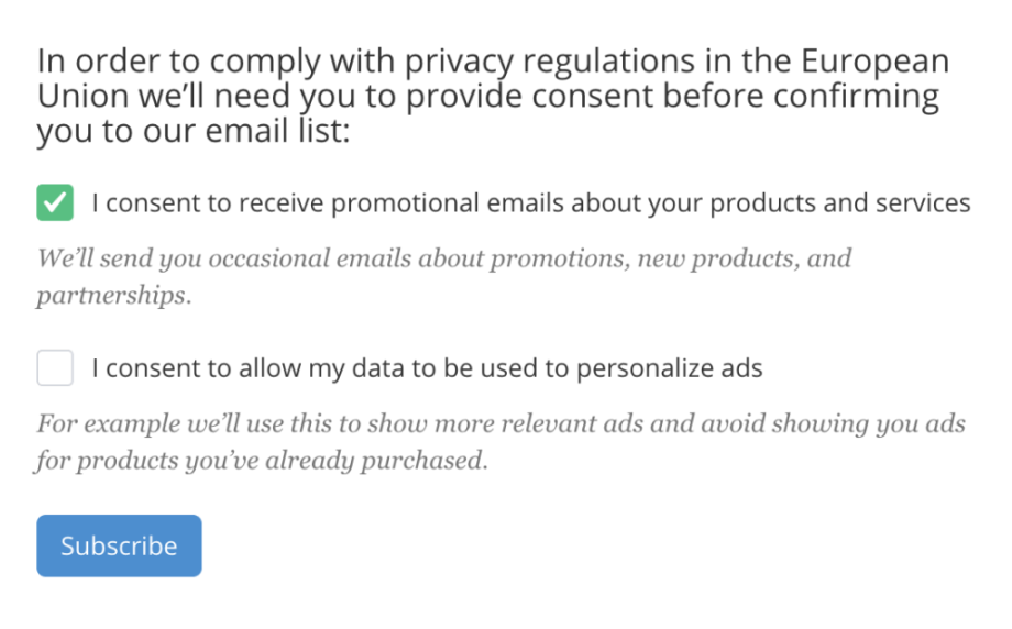 ConvertKit Review GDPR Compliance
