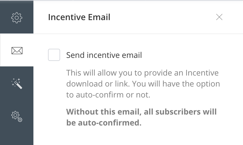 ConvertKit Review - incentive email