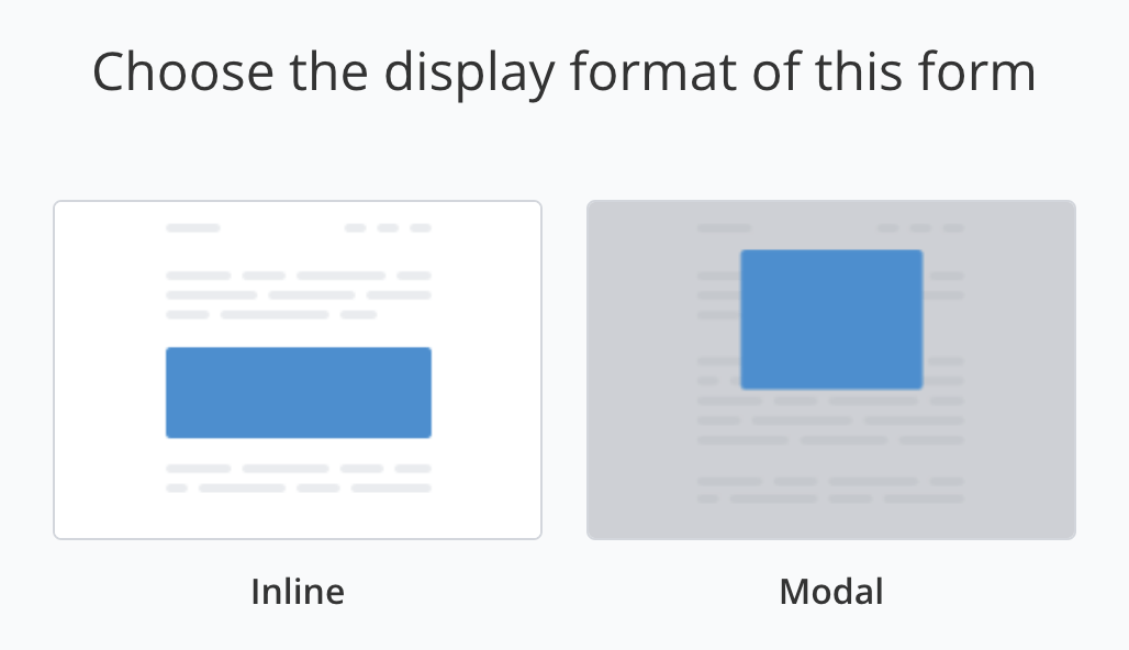 convertkit review inline or modal forms