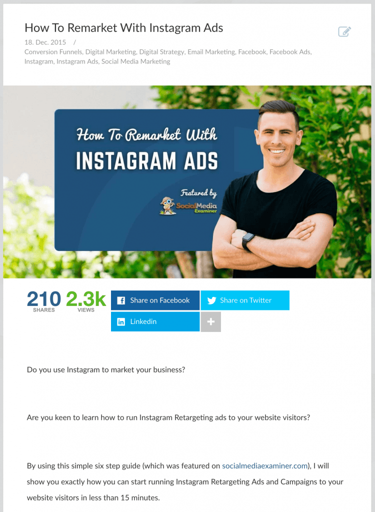 How To Remarket With Instagram Ads-min